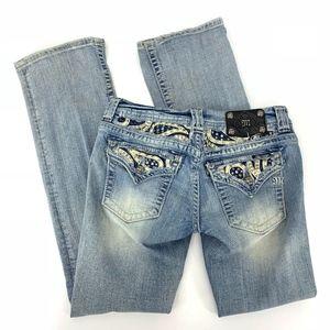 Miss Me Bootcut Embellished Denim Jeans